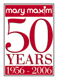 Mary Maxim 50 years