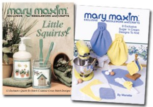 Mary Maxim pattern books