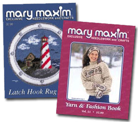 Mary Maxim specialty catalogs