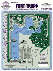 Fort Trodd map