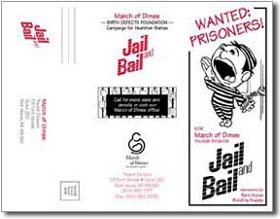 March of Dimes Jail and Bail brochure