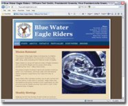 Blue Water Eagle Riders