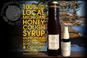 HomeStead Honey Bee Farm digital ad