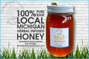 HomeStead Honey Bee Farm ad