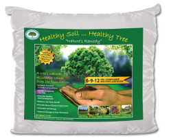Healthy Soil... Healthy Tree product label