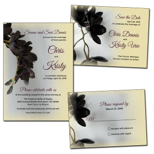 Private event designs