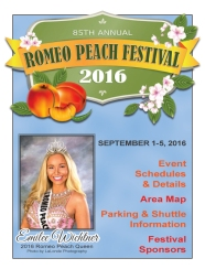 Peach Festival Program