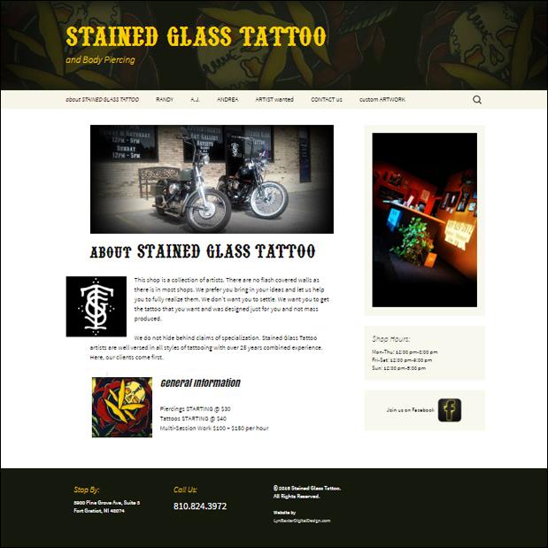 StainedGlassTattoo.com